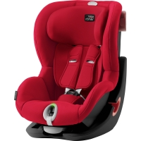 Britax Römer KING II LS BLACK SERIES, Fire Red 2020