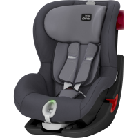Britax Römer KING II LS BLACK SERIES, Storm Grey 2020