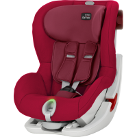 Britax Römer KING II LS, Flame Red 2018
