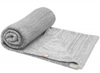 Snoozebaby Gestrickte Baumwolldecke Stylish Cocooning (100x150) Storm Grey