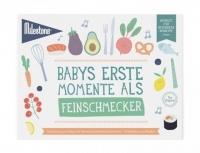 Milestone Booklet Babys Erste Momente als Schmecker