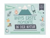 Milestone Booklet Babys Erste Momente in der Natur