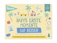 Milestone Booklet Babys Erste Momente auf Reisen