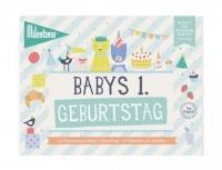 Milestone Booklet Babys 1. Geburtstag