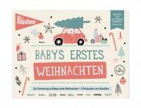 Milestone Booklet Babys Erstes Weihnachten