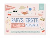 Milestone Booklet Babys Erste Fashion-Momente