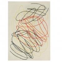 Lorena Canals Kinderteppich aus Wolle, Scribble Multi