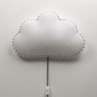 BUOKIDS Wandlampe Soft Wolke, Grau