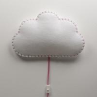 BUOKIDS Wandlampe Soft Wolke, Pink