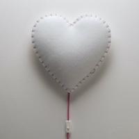 BUOKIDS Wandlampe Soft Herz, Pink