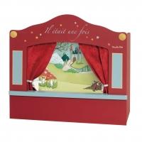 Moulin Roty Puppentheater aus Holz, klein