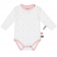 Snoozebaby Body, Dots Light Pink