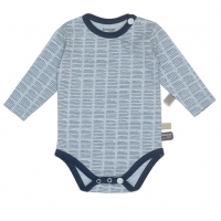 Snoozebaby Body, Hand Stripe Indigo Blue
