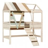 Lifetime Kidsrooms Baumhütte mit Laufplanke, Whitewash