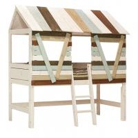 Lifetime Kidsrooms Baumhütte mit schräger Leiter, Whitewash