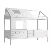 Lifetime Kidsrooms Silver Sparkle Hütte, Weiss lackiert