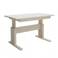 Lifetime Kidsrooms höhenverstellbarer Schreibtisch 120cm mit Schublade, Whitewash