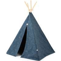 NOBODINOZ Tipi-Zelt Phoenix, Gold Bubble/ Night Blue