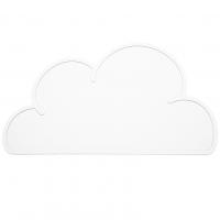 Silikon-Tischmatte Wolke, Weiss