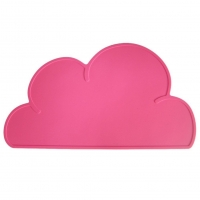 Silikon-Tischmatte Wolke, Pink