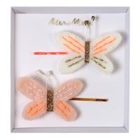meri meri Filz Haarspangen, Schmetterlinge