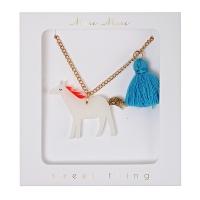 meri meri Kinder Halskette, Horse Tassel