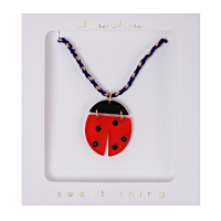 meri meri Kinder Halskette, Ladybug
