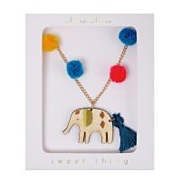 meri meri Kinder Halskette, Elefant