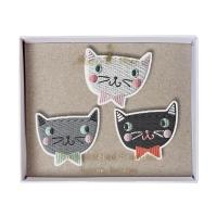 meri meri Broschen Set, Cats
