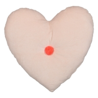 meri meri Kissen Peach Heart