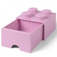 LEGO Drawer Brick 4, Aufbewahrungsbox, Rosa