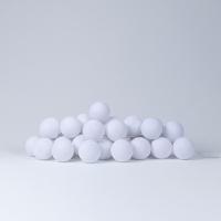 Lifetime Kidsrooms Lichterkette Baumwoll-Kugeln LED, Weiss