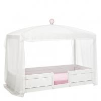 Lifetime Kidsrooms Himmel, Weiss/Pink für 4in1 Bett