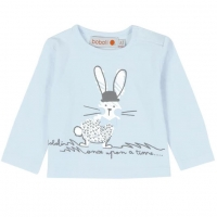 Boboli Shirt, Once upon a time - cloud blue