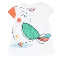 Boboli T-Shirt, Vogel