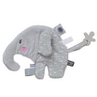 Snoozebaby Schnullerhalter Kuscheltier, Elly Elephant