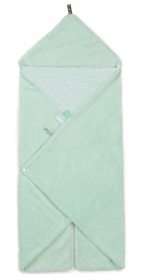 Snoozebaby Wickeldecke Trendy Wrapping, Misty Green