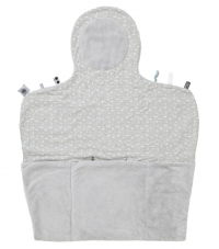Snoozebaby Wickelmatte Easy Changing, Lovely Grey