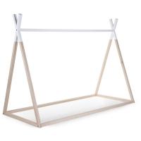 Childhome Tipi Rahmen, Natur/weiss, 200x90cm