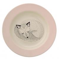 Bloomingville Keramik Suppenschale Adelynn, Fuchs