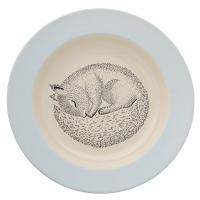 Bloomingville Keramik Suppenschale Adelynn, Eichhörnchen