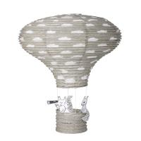 Bloomingville Heissluftballon-Lampenschirm, Grau