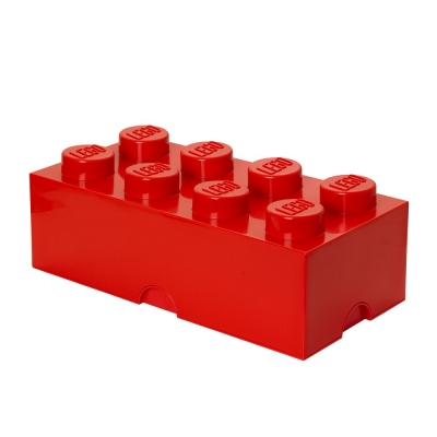 LEGO Brick 8 Aufbewahrungsbox, rot
