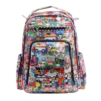 Ju-Ju-Be x tokidoki Be Right Back Wickelrucksack, Sushi Cars