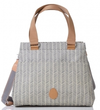 PacaPod Wickeltasche Richmond - Dove Herringbone