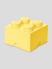 LEGO Storage Brick 4, Aufbewahrungsbox, cool yellow