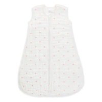 Aden Anais Multi-Layer Mehrlagiger Schlafsack, Lovebird - Rose Water Dot