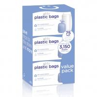 Ubbi Plastikbeutel für Windeleimer, 3er-Pack