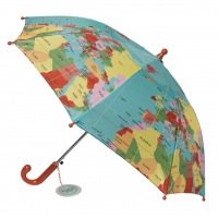 Rex London Kinder Regenschirm, World Map