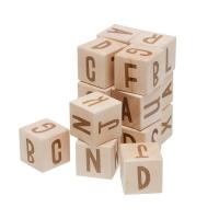 Sebra Buchstabenblöcke aus Holz, 16 Stk.